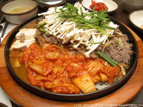 鐵板磨菇炒牛肉