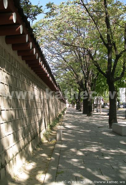 景福宮石牆路 /경복궁길