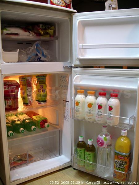 冰箱裝滿了!