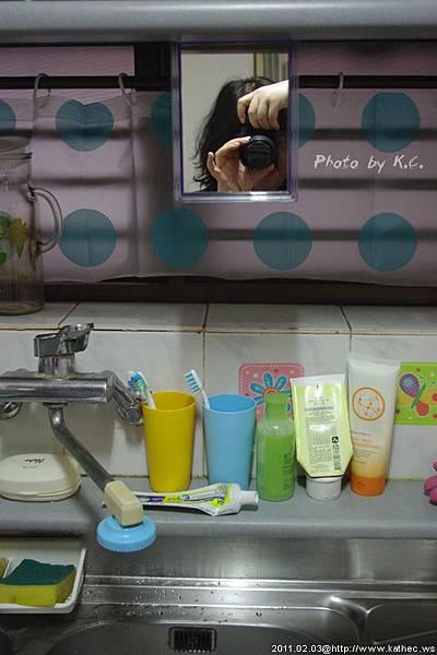 流理台兼洗臉台