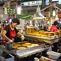綠豆煎餅攤位