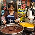 紅豆粥攤位
