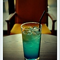 藍色檸檬飲料