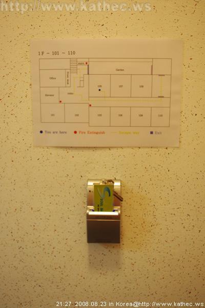 電源開關 & 樓層配置圖