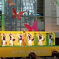 仁川機場 / 機場大廳的走繩表演