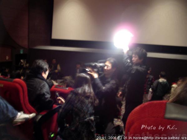 「百萬富翁的初戀」VIP試映會/媒體採訪到場來賓