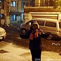 20101128/下雪初體驗紀念照