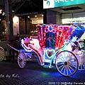 20101224/繞行清溪廣場的馬車