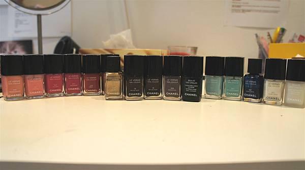 chanel nail polish family
