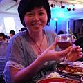 """這杯叫做""""不甘心不放手""""(是誰亂取的?)  聽說我喜宴當天那杯更噁心..只能說幸好不是我喝的XD"""