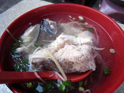 超鮮美富哥魚湯
