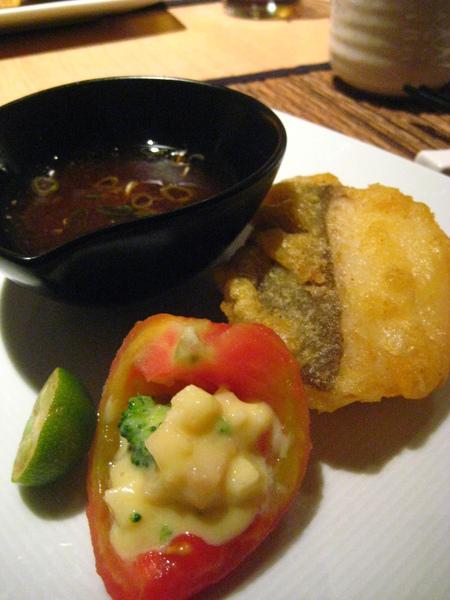 5th 道:酥炸鱈魚