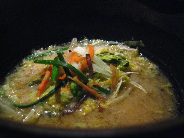 6th道: 主菜--味噌鍋!!@_@