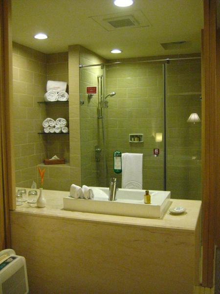 開放式衛浴