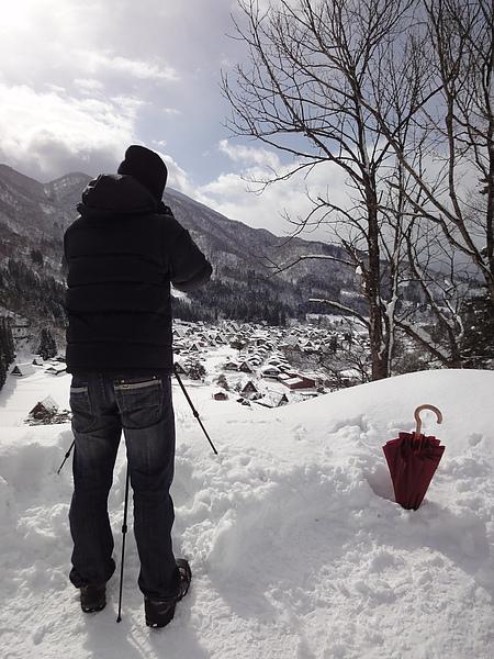 camera man 與小紅傘