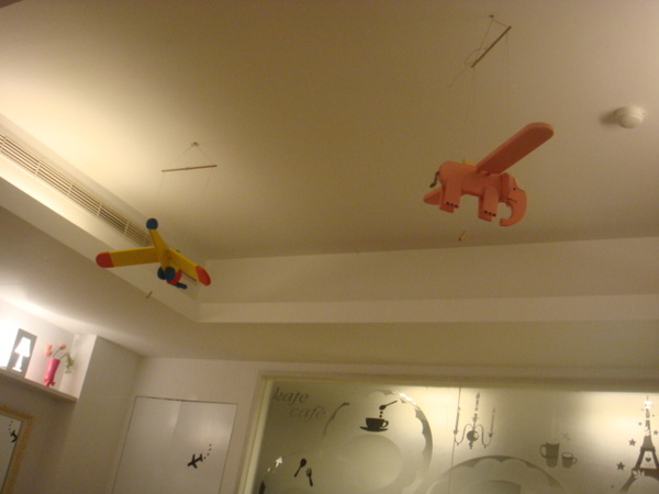 可愛的裝飾--小飛象會飛唷!!