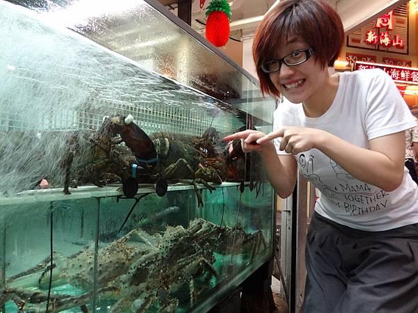 連蝦子都這樣大啊!!!