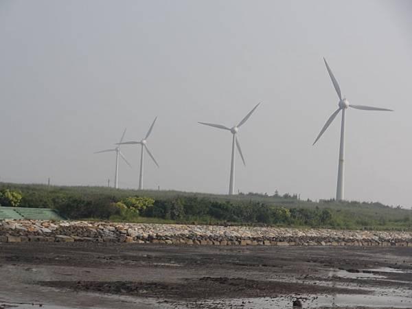 看到風力發電