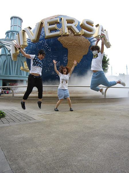 接下來是超好笑的跳躍照片