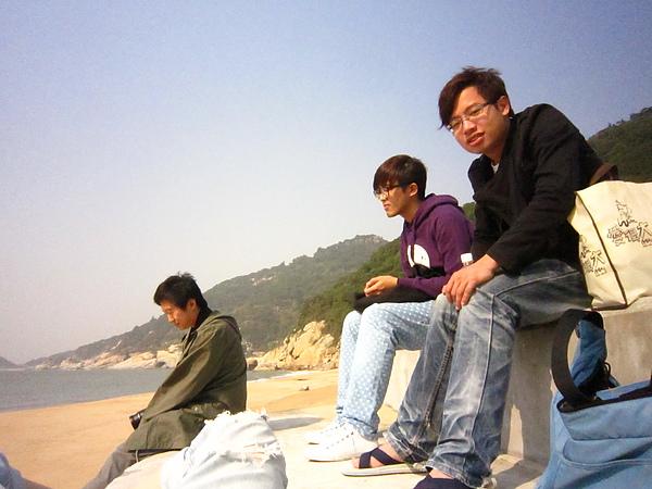 三個男人的MEN'S TALK(實際上根本都沒說話XD)