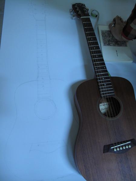手工吉他初期