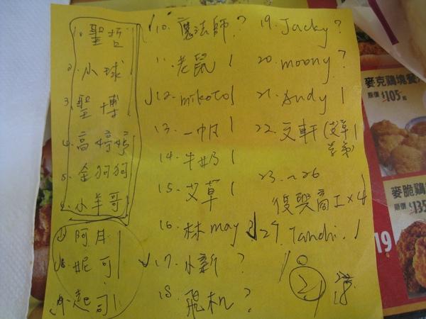 322紅豆先生生日PARTY好多人啊!!