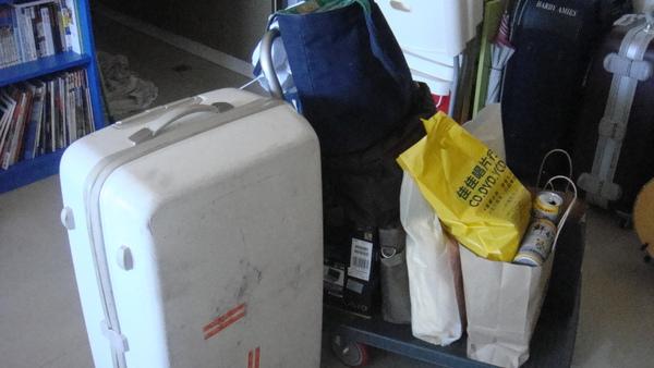 由於四天都不在北部,所以行李箱好方便啊!!