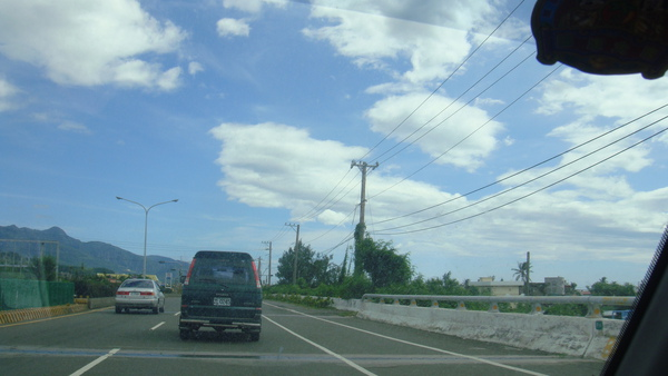 看到了藍天