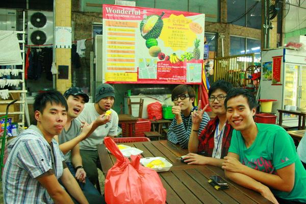 榴槤是新加坡的特產