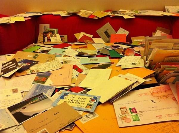 這些照片是破了1000封的時候