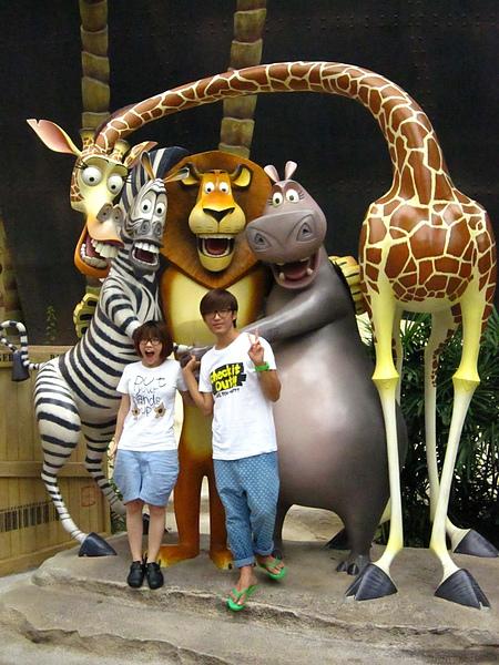 我超愛馬達加斯加的啦!!!!