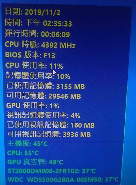 i7 9700 temp