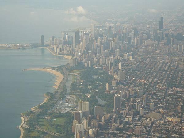 第一次鳥瞰芝加哥.JPG