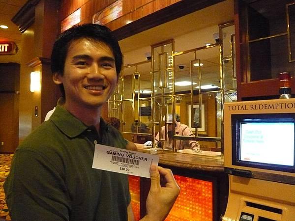 Kevin贏錢了.JPG