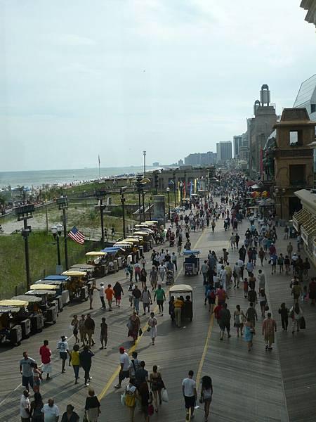 今天大西洋城的人明顯變多.JPG