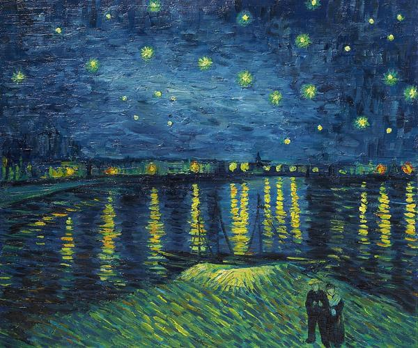 vangogh-starrynightoverrhone-1888