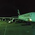 聽說最大台的阿聯酋雙層A380