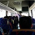 這次搭乘的遊覽車都滿舒服的,位置大,椅子也好座。