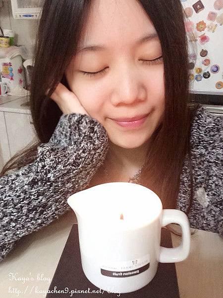 【仙莎】按摩護膚溫感蠟燭精油(水果味)