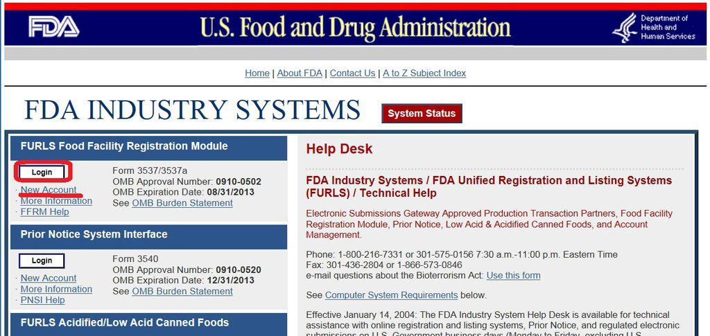 如何進行美國FDA食品註冊