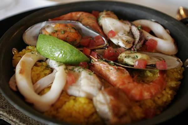 好看不好吃的西班牙海鮮飯
