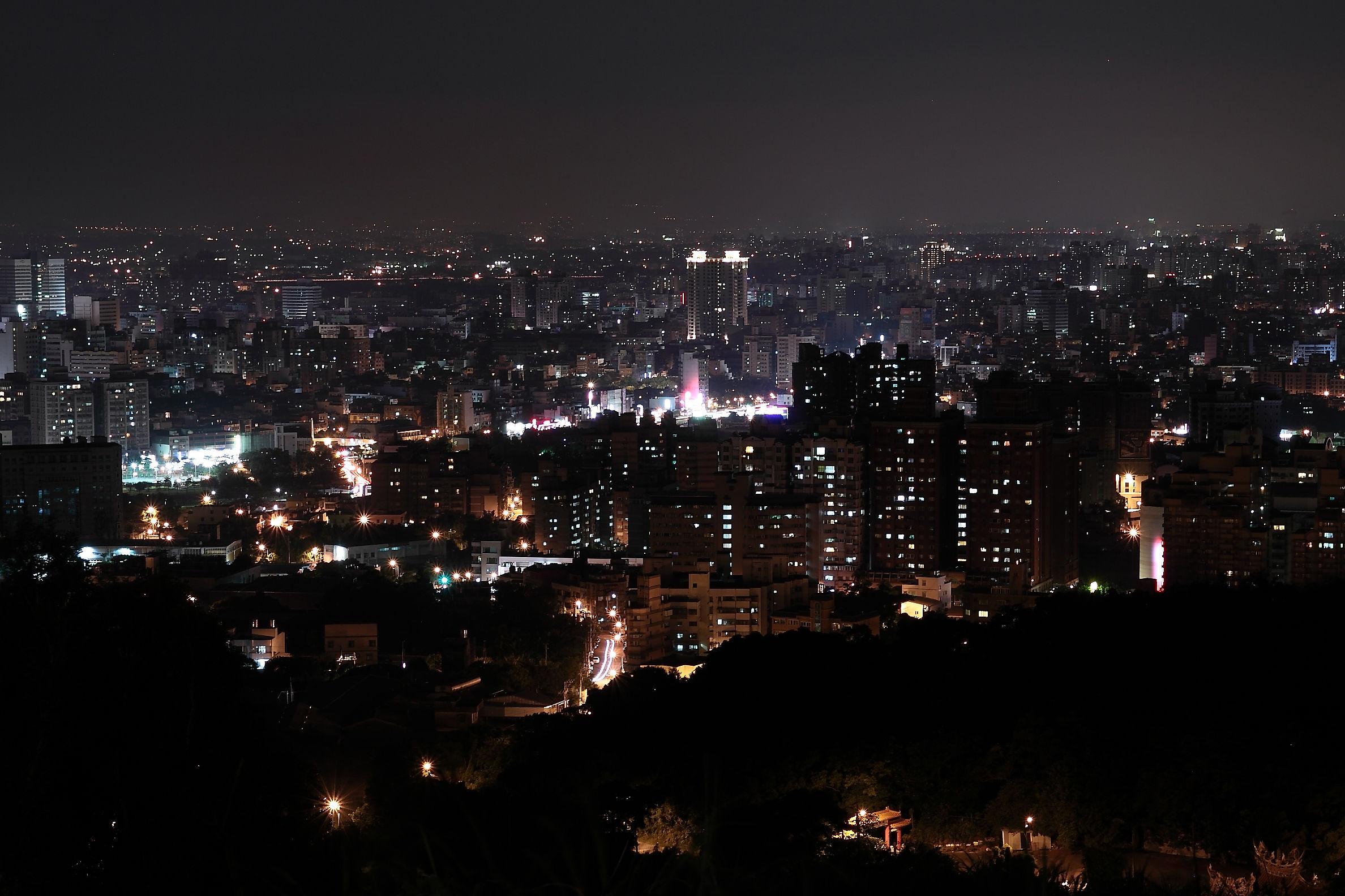 虎頭山環保公園夜景