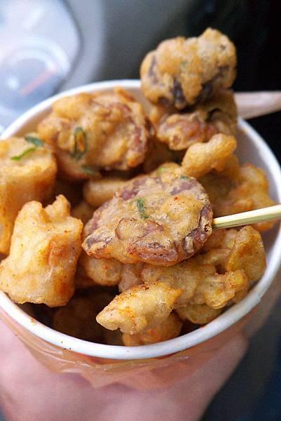 角板山的炸菇菇!!