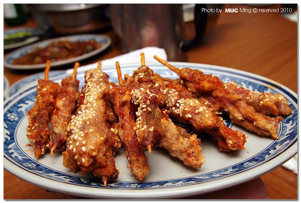新疆香酥羊串