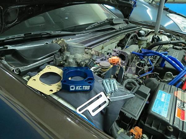 Honda K5 F23A 安裝KC.TBS節氣門墊寬器_001