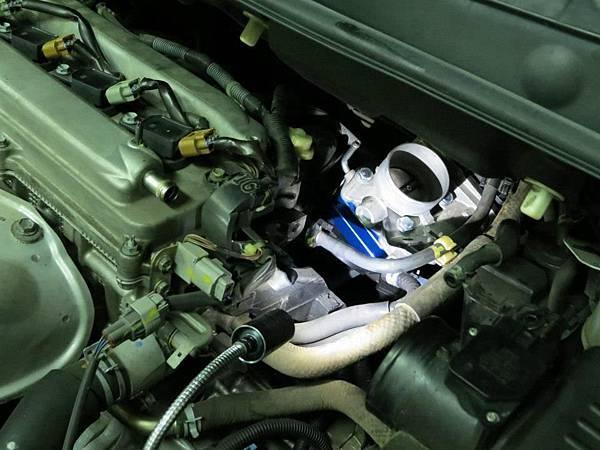 Toyota Wish 安裝 KC.TBS節氣門墊寬器 Plus_004