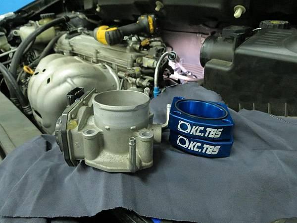 Toyota Wish 安裝 KC.TBS節氣門墊寬器 Plus_003
