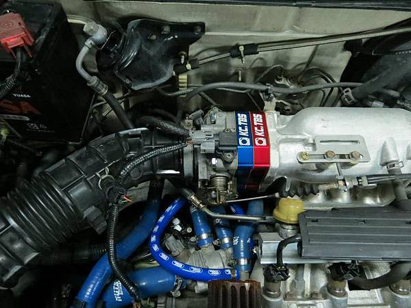 Honda K8 MT 安裝KC.TBS Plus節氣門墊寬器_002