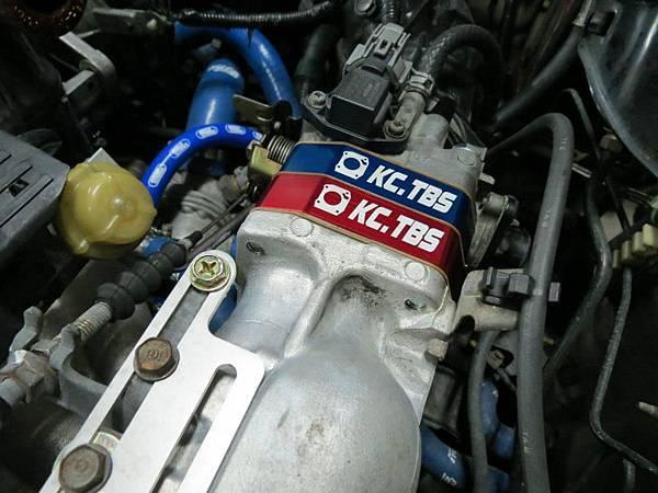 Honda K8 MT 安裝KC.TBS Plus節氣門墊寬器_003