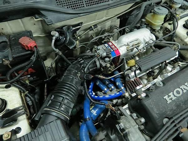 Honda K8 MT 安裝KC.TBS Plus節氣門墊寬器_006